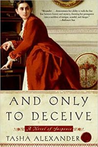 Book Review: And Only To Deceive by Tasha Alexander