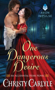 Interview with Christy Carlyle, Author of ONE DANGEROUS DESIRE