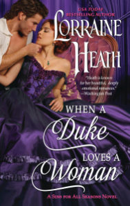 Interview With Lorraine Heath, Author of When a Duke Loves a Woman