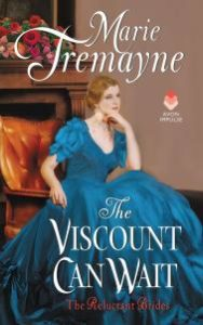 Interview with Marie Tremayne, Author of The Viscount Can Wait