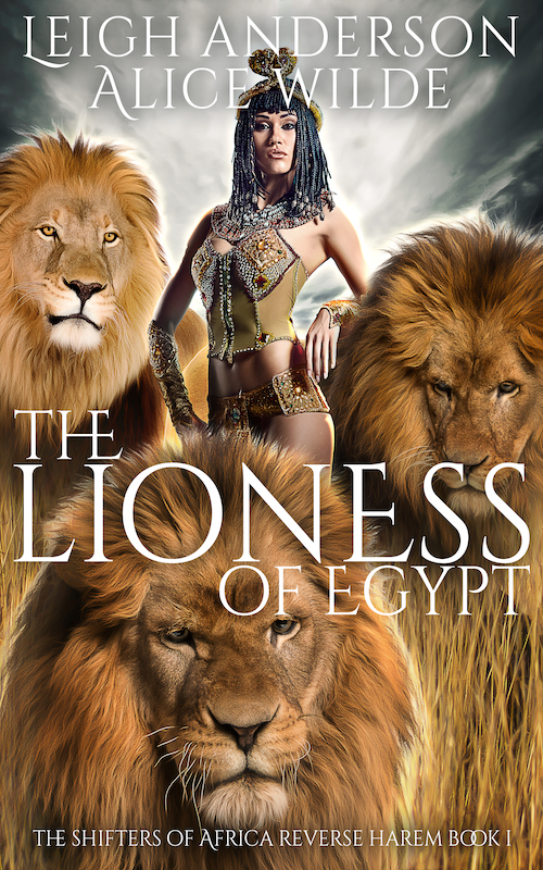 TheLionessofEgypt_ShiftersofAfrica_Book1 copy