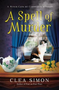 Why do I write mysteries with cats in them? - Guest Post by Clea Simon, Author of A Spell of Murder